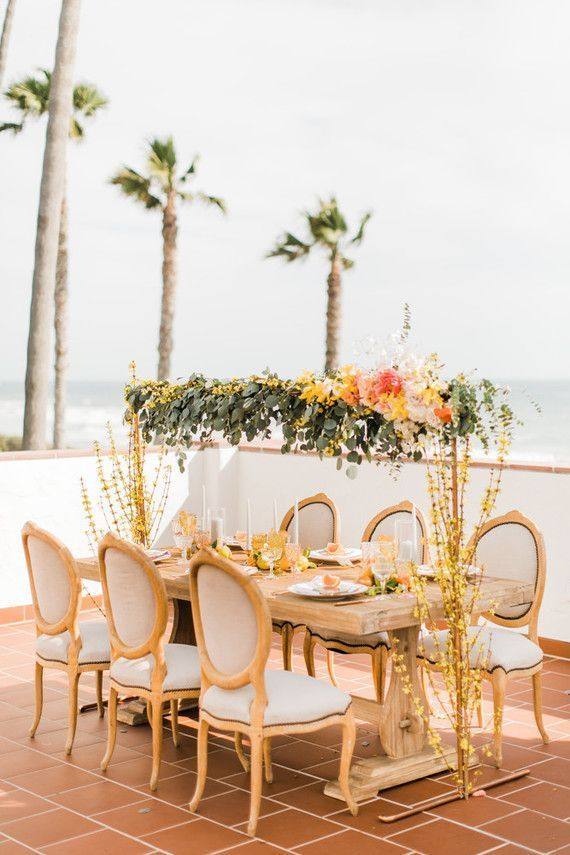 Citrus inspired wedding ideas Wedding