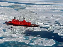 Yamal (icebreaker) - 2002 North Pole