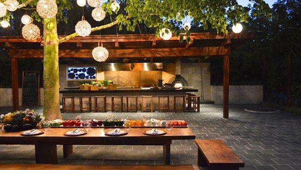restaurante rustico al aire libre - Buscar con Google