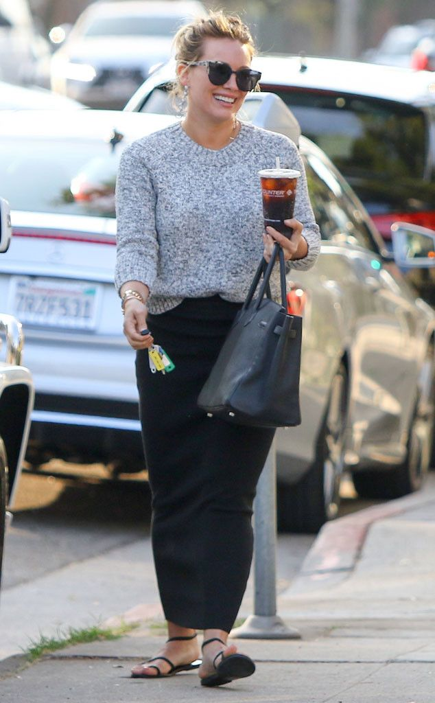 Hilary Duff from The Big Picture: Today's Hot Pics  Duff days! The actress grabs an iced coffee during an outing in Los Angeles.