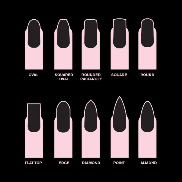 10 Nail Shapes to Flatter Your Fingers