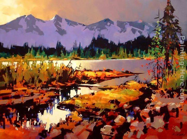 Michael O'Toole~Kootenay Colours