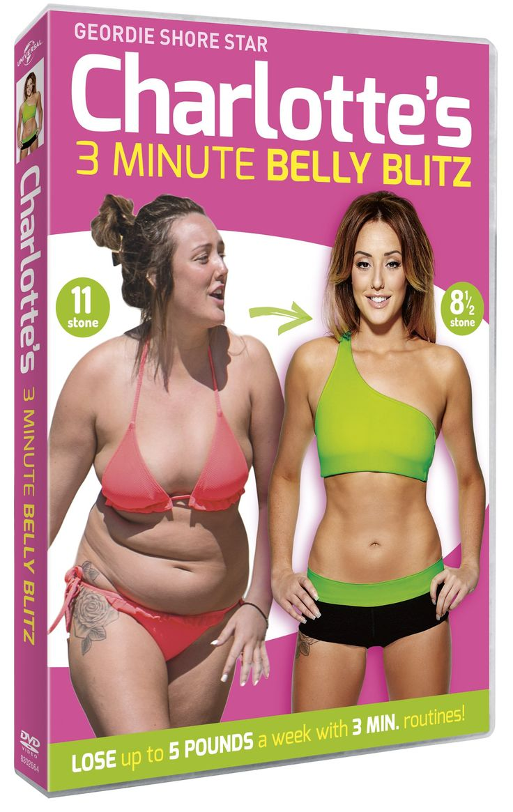 Charlotte Crosby's 3 Minute Belly Blitz DVD 2014: Amazon.co.uk: Charlotte Crosby: DVD & Blu-ray