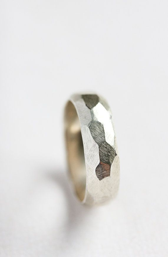 Sterling silver statement ring silver chunky by BelindaSaville, $60.00