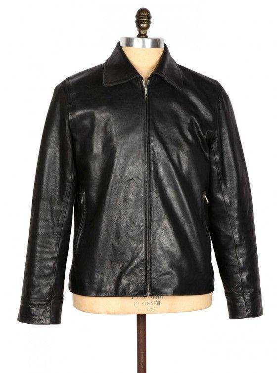 THE RACER – Genuine leather jacket.  Racing Jacket