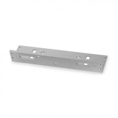 Монтажный уголок для удобного крепления совместимого электромагнитного замка Proline на узкие односторонние деревянные, металлопластиковые или металлические двери. Материал: анодированный алюминий. Совместимые модели: ML-350 (LED).