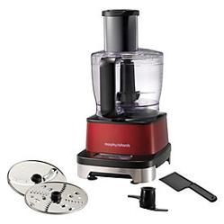 Morphy Richards Accents Induction Red Food Processor