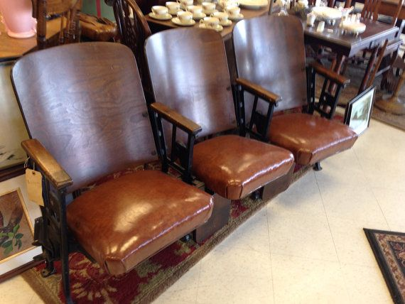 Sale Was 699 Usd Gorgeous Antique Theatre Seats