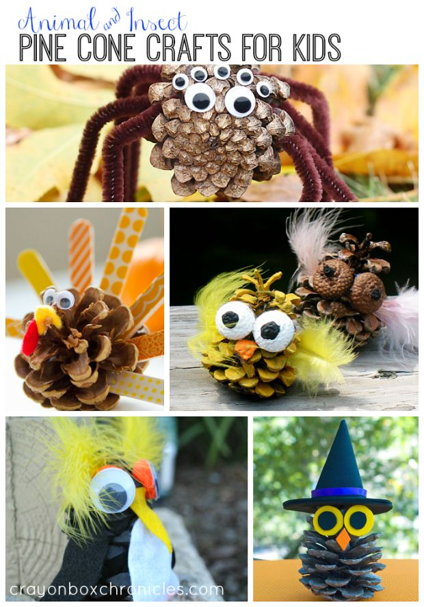 Pine cone crafts for kids nature for kids and pine for Pine cone crafts for children