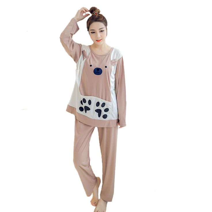 Maternity suits causual pajamas for pregnant women