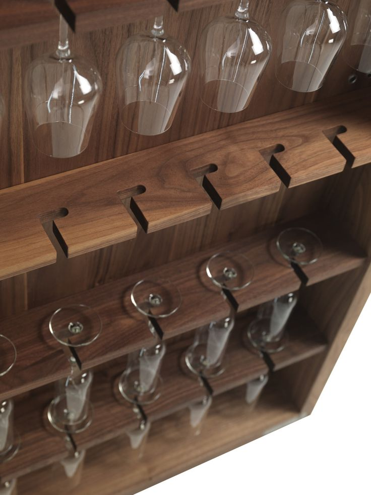 #winterREstyle Riva 1920 Cambusa Wine Cabinet Walnut | Cupboards | Shelving & Storage | Furniture | Heal's