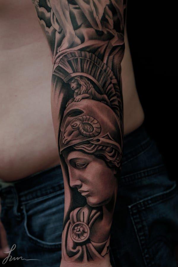 Tattoo Artist: Jun Cha