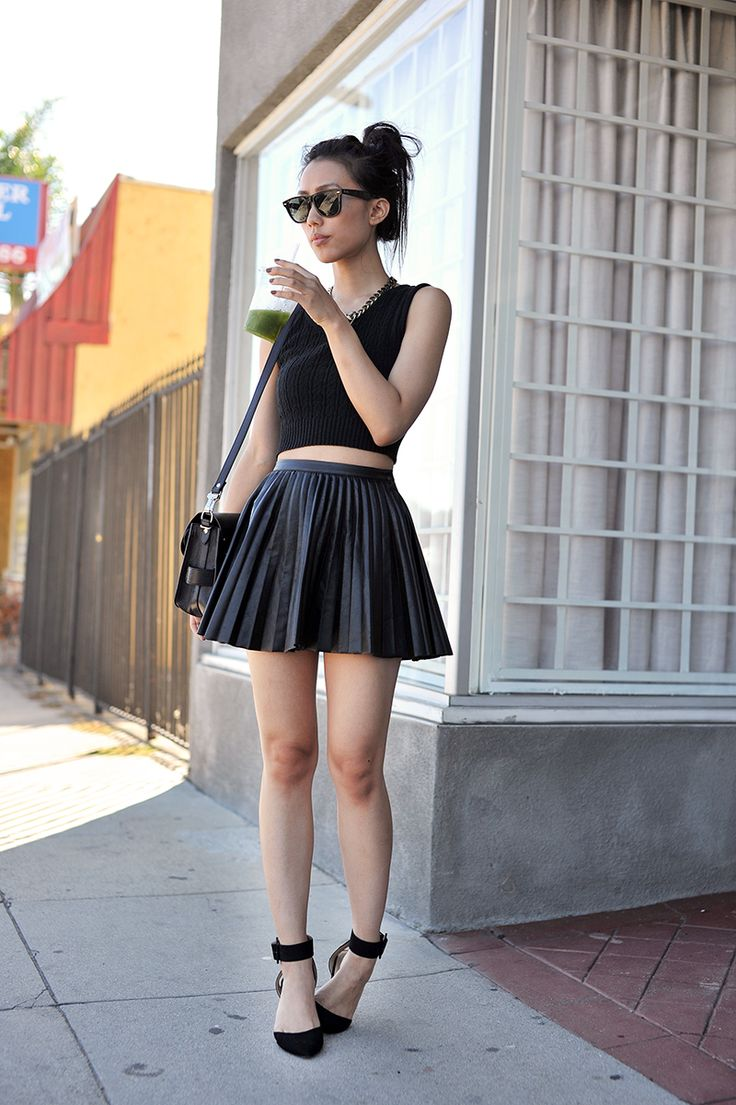 57 best images about leather skirt on Pinterest | Leather skirts ...