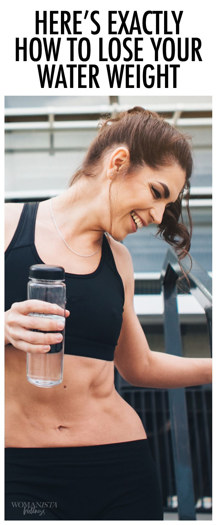 Exactly how to lose your water weight