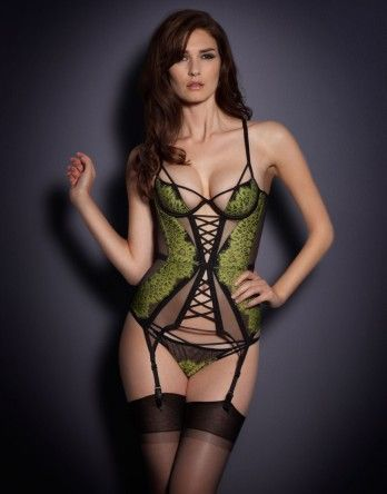 Fascinated by the construction of this one. Corsets & Basques by Agent Provocateur - Electra Basque