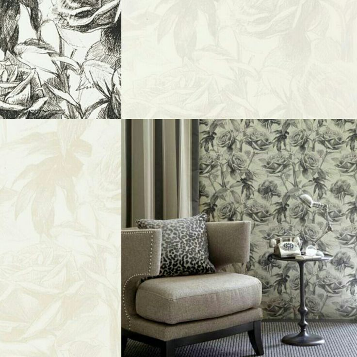 Floral sophistication! This has a very understated masculine vibe...