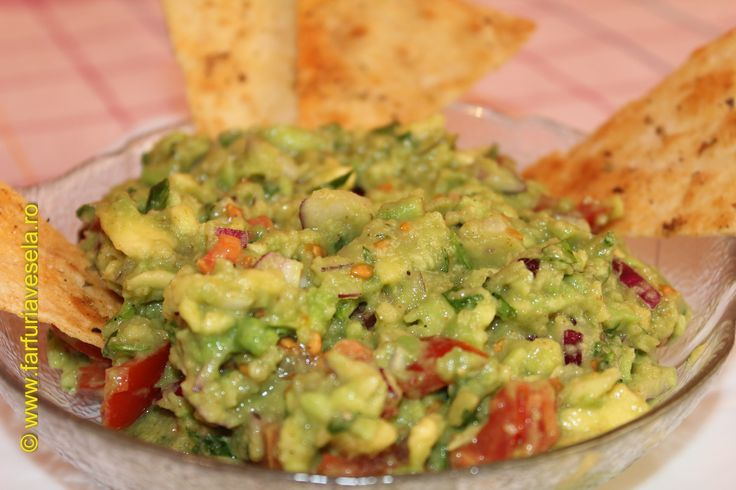 Farfuria vesela: Guacamole - salata cu avocado