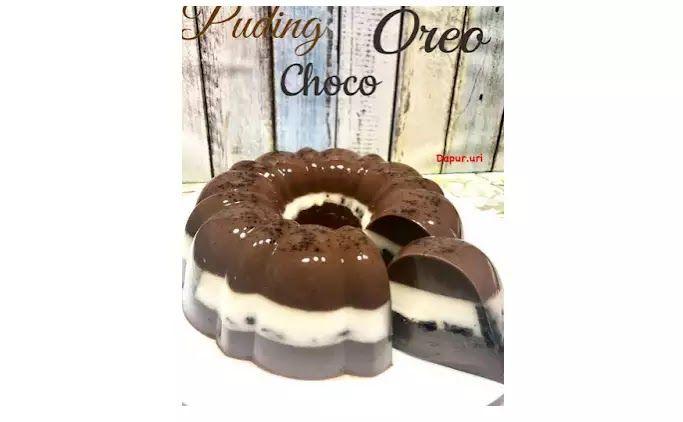 Resep Pudding Choco Oreo Yang Cantik Dan Manis Di 2020 Makanan Hidangan Penutup Puding Coklat