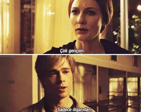 Benjamin Button - film replikleri