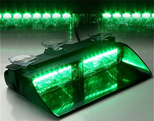 XT AUTO Car 16-led 18 Flashing Mode Emergency Vehicle Dash Warning Strobe Flash Light Green - http://www.caraccessoriesonlinemarket.com/xt-auto-car-16-led-18-flashing-mode-emergency-vehicle-dash-warning-strobe-flash-light-green/  #16Led, #AUTO, #Dash, #Emergency, #Flash, #Flashing, #Green, #Light, #Mode, #Strobe, #Vehicle, #Warning #All-Green-Automotive, #Green-Automotive