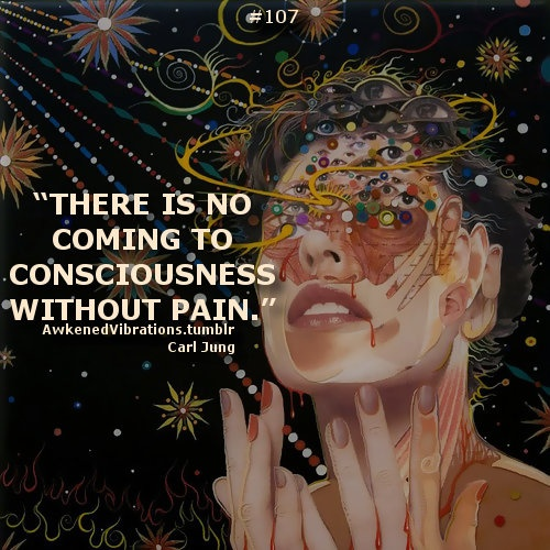the great paradox. the great choice. do we sleep walk through life as so many are doing? or do we awaken and face the pain in order to grow and expand our consciousness... to be fully awake... raw... alive. an inconvenient and brave choice indeed.