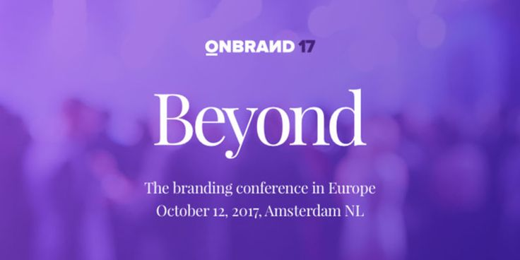 TNW is sponsoring the branding conference OnBrand  heres why you should come