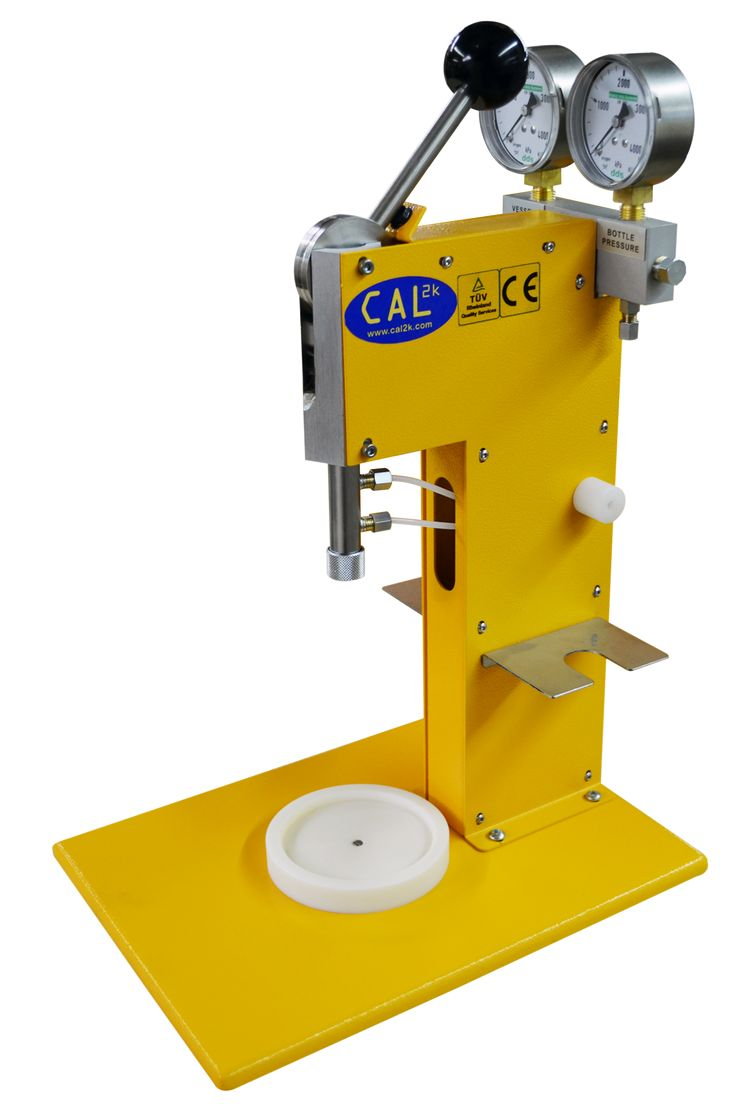 The CAL2K Filling Station - used to fill a bomb vessel with 3000KPa oxygen before a calorific value determination of a sample DDS CALORIMETERS