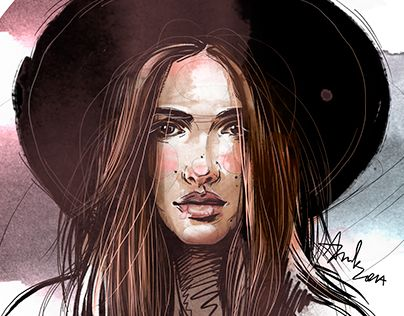 "Check out new work on my @Behance portfolio: ""Portrait a day - December 2014"" http://on.be.net/1wg080I"