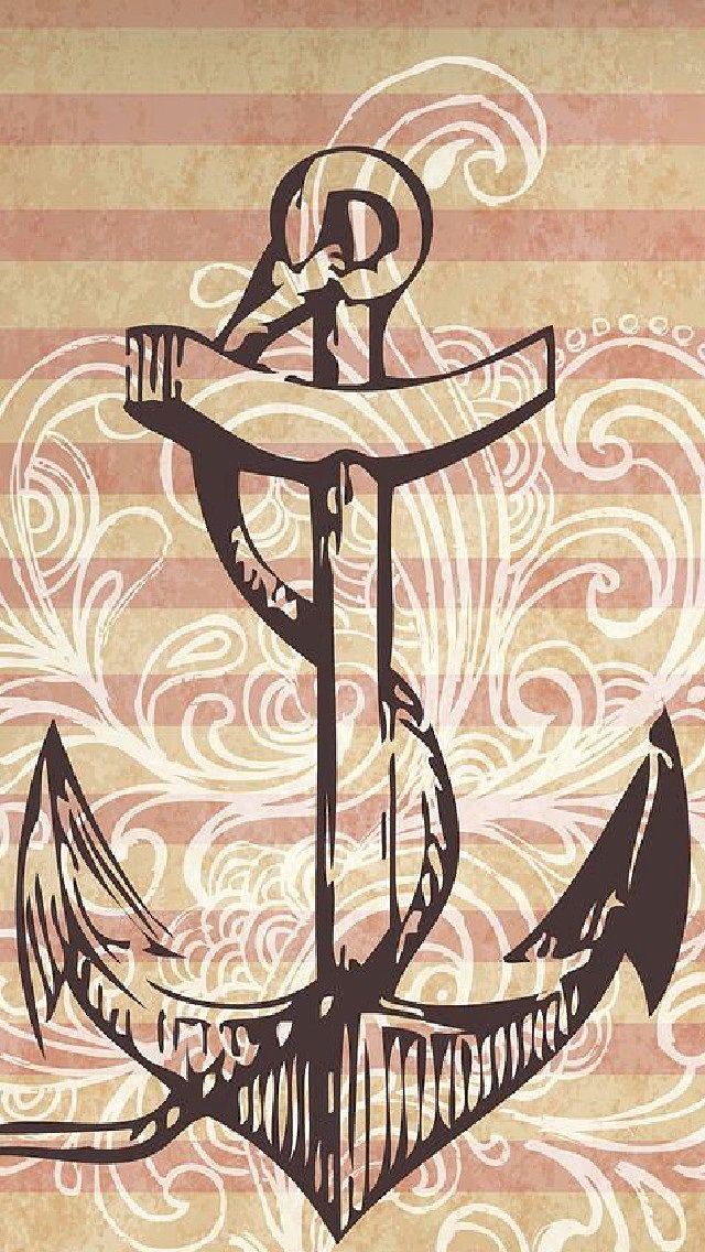 #Vintage Anchor #design wallpaper for http://galaxytokok-infinity.hu http://iphonetokok-infinity.hu