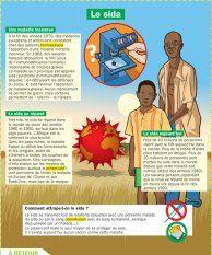 Le sida - Mon Quotidien, le seul site d'information quotidienne pour les 10 - 14 ans !