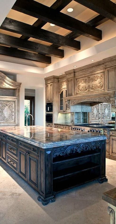 60 best Elegant Kitchens images on Pinterest Elegant