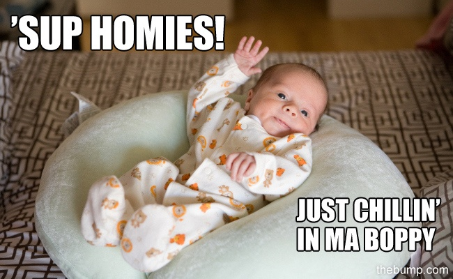 I think these 15 baby memes are pretty cute.