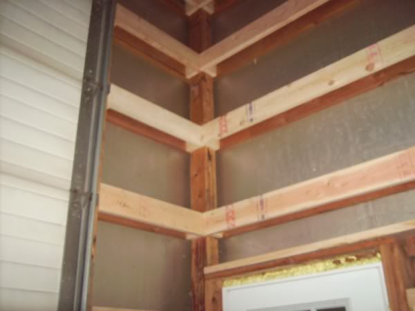 Pole Barn Wall Framing