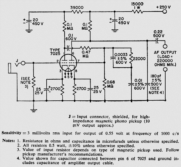 rca to headphone schematic