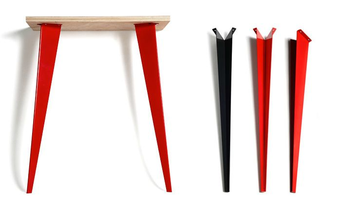 les 25 meilleures id es concernant pied de table metal sur pinterest pied metal pied table. Black Bedroom Furniture Sets. Home Design Ideas