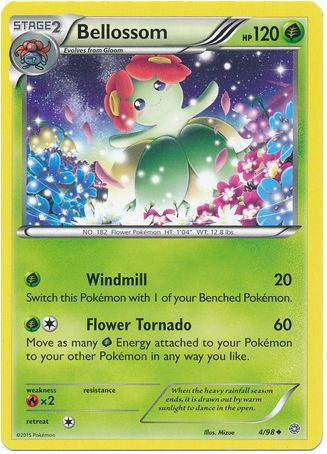 Bellossom 4/98 Pokemon TCG: XY Ancient Origins Pokemon Cards #pokemon #pokemontcg #pokemoncards