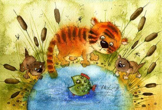 Камышовые коты (Виктория Кирдий)