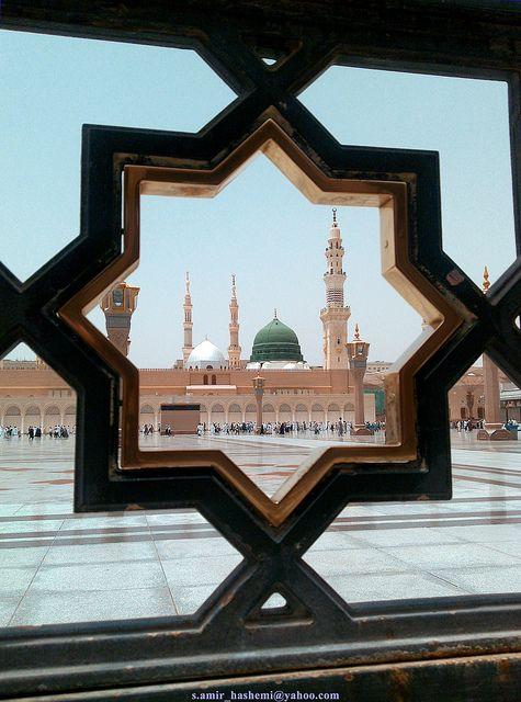 Al-Madinah, Saudi Arabia [photo by S. Amir Hashemi, Iran]....