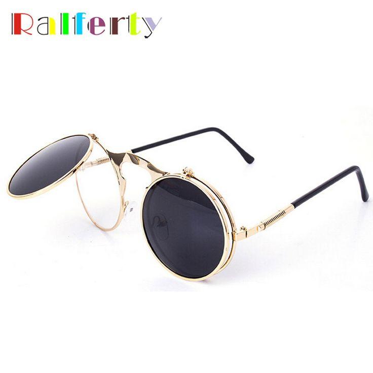 $5.59 (Buy here: https://alitems.com/g/1e8d114494ebda23ff8b16525dc3e8/?i=5&ulp=https%3A%2F%2Fwww.aliexpress.com%2Fitem%2FRetro-Steampunk-Googles-Vintage-Round-Flip-Up-Sunglass-Women-Mens-Circle-Clip-On-Sunglasses-Metal-Punk%2F32412940437.html ) Ralferty Retro Steampunk Googles Vintage Round Flip Up Sunglass Women Mens Clip On Sunglasses Metal Punk Sun Glasses Male Oculos for just $5.59