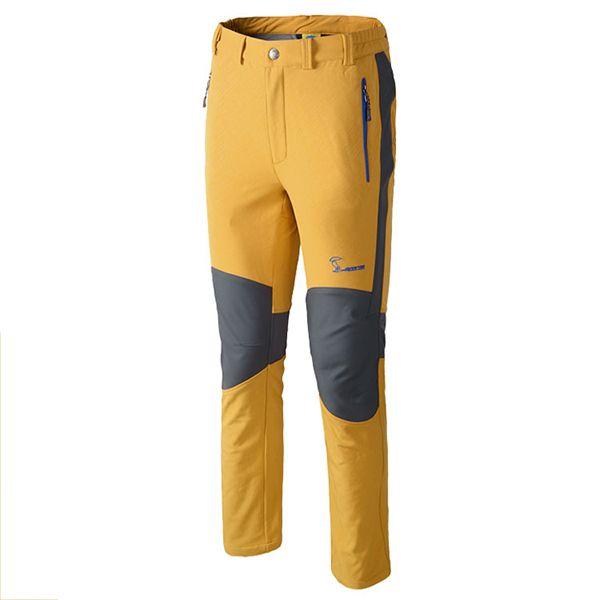 Base de exploración invernal Plus Engrosamiento de cachemir al aire libre Pantalones para hombres o Mujer