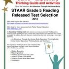 This classroom tested product includes the complete analysis for the STAAR released test selection: An Adventure Through the Human Body Activities....