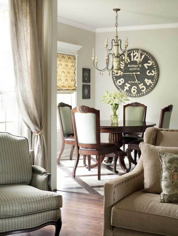 Zegar w stylu vintage