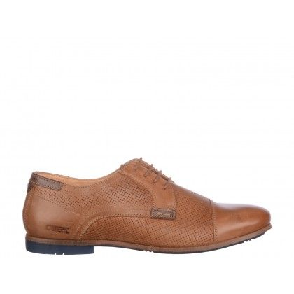 Pantofi Otter maro,  din piele naturala