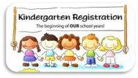 Kindergarten registration clipart