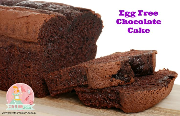 Egg Free Chocolate Cake | Stay at Home Mum