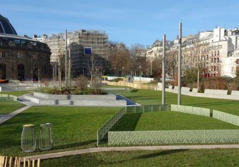 Le jardin Nelson Mandela à Paris 1er 2016