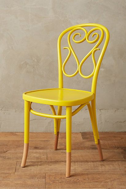 Scrolled Bentwood Dining Chair, Swan #anthropologie