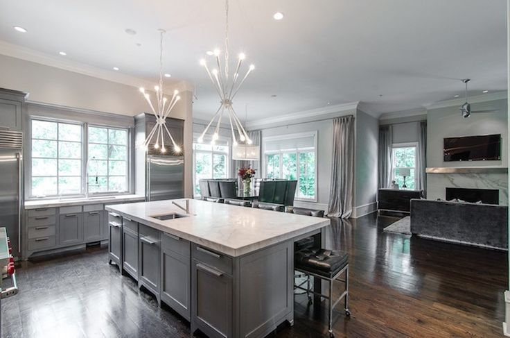 Best 1000 Images About Gray Kitchens On Pinterest Islands 400 x 300
