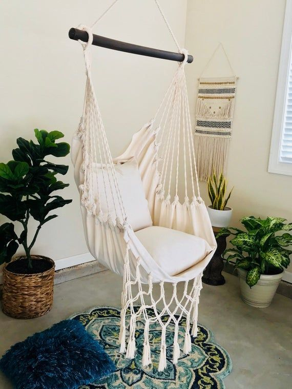 Hammock Swing Chair Macrame Hammock Chair White Hammock Chair