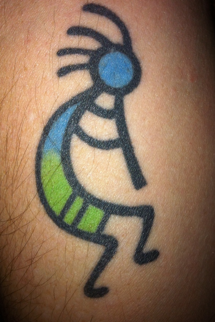 My Kokopelli Tattoo